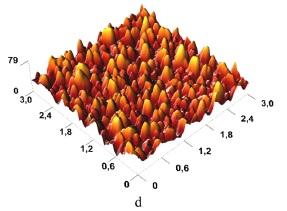 Магнитооптические, структурные и поверхностные свойства (Bi, Ga)-замещенных DyIG пленок, полученных реактивно-ионным распылением.